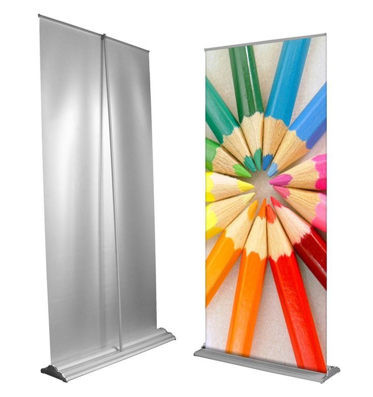 #Retractable #Banner #stands are very easy to deploy and are very easy to travel with. They can be set up in seconds. The banner rolls up into the base where it is held protected. See more at:- http://www.megaimaging.com/RetractableBannerStands.html
