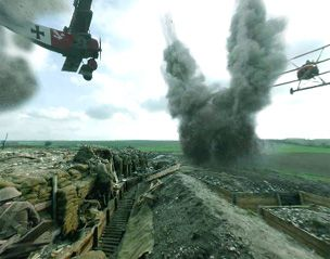 BBC - History - World Wars: Dogfight Over the Trenches Virtual Tour