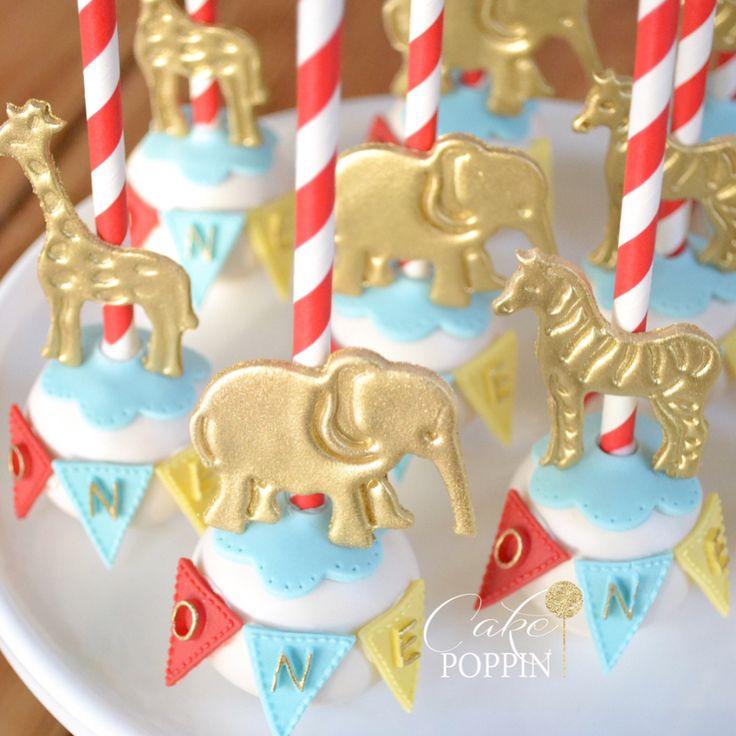 Circus cake pops❤️ #swipeleft #cakepoppn . . . #cakepops #circuscakepops #fresnobakery #clovisbakery #fresno #clovis #circusdesserts