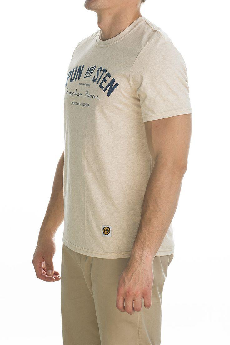 T-shirt Main; beige.