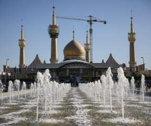 A view shows the mausoleum of the founder of the Islamic Republic  www.ecarspro.com Ayatollah Ruhollah Khomeini during... - TIMA AGENCY/Reuters