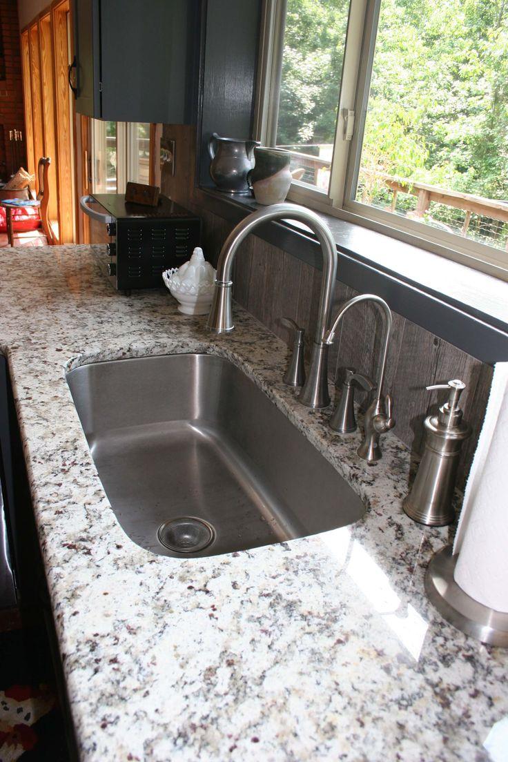 Grey Undermount Kitchen Sink