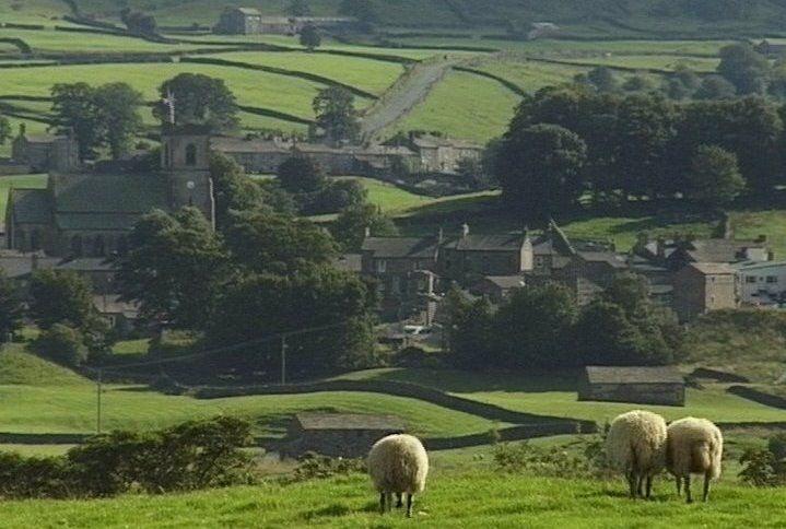 Yorkshire England | Hawes, Upper Wensleysdale, Yorkshire, England