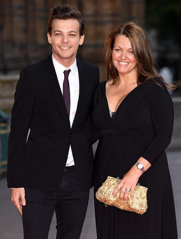 Louis Tomlinson & His Late MotherJohannah Tomlinson (REX/Shutterstock)