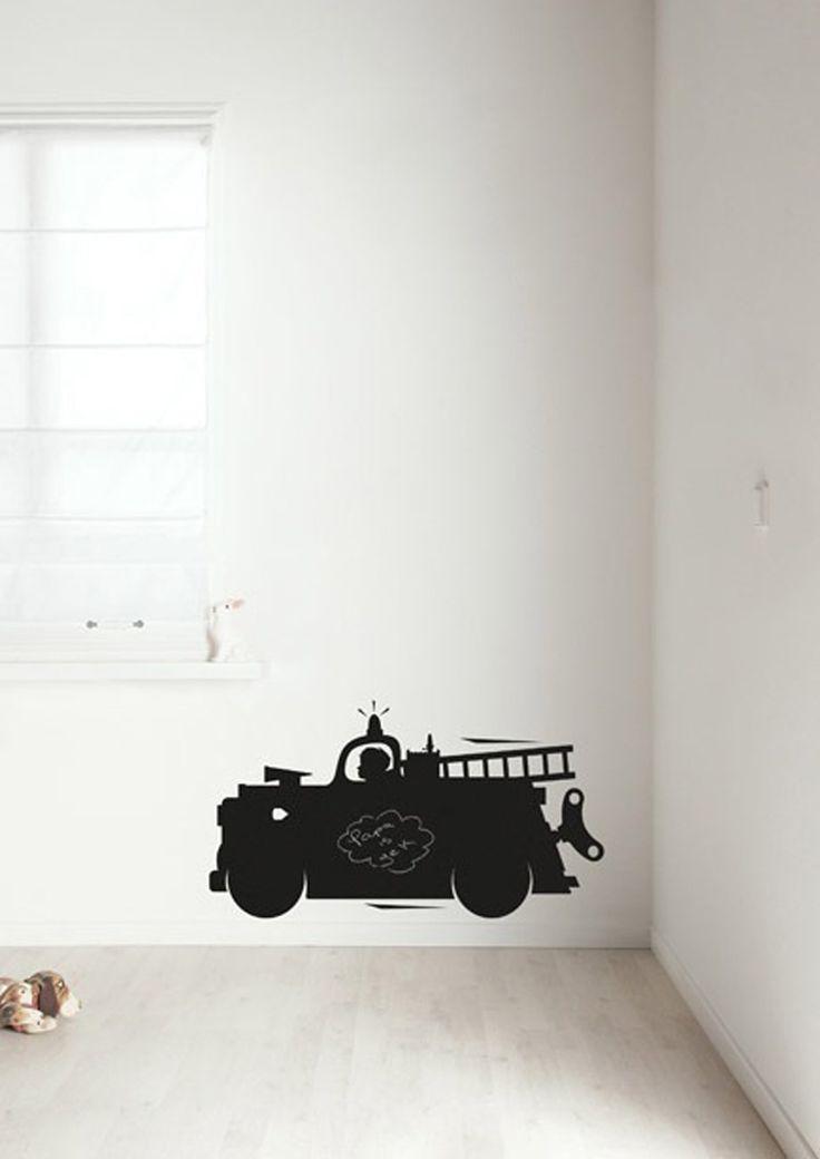 KEK   schoolbordsticker – brandweerwagen