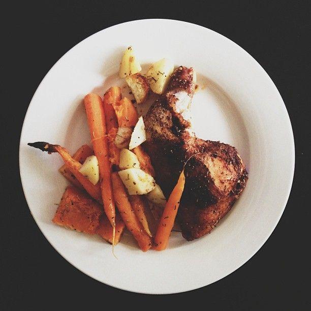 Home roast / dinner #plating #fail #vscocam