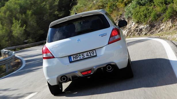 Suzuki Swift Sport  http://www.autorevue.at/suzuki/feine-klinge.html