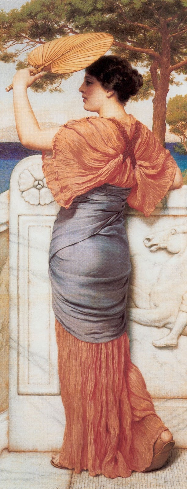John William Godward - Sappho