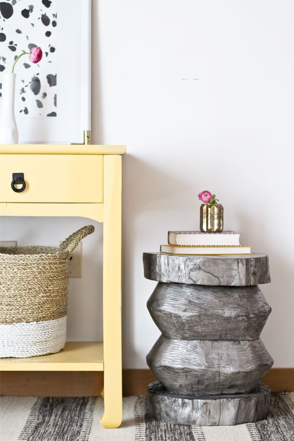 Dorsey Designs: Tree Stump To Layla Grace Side Table