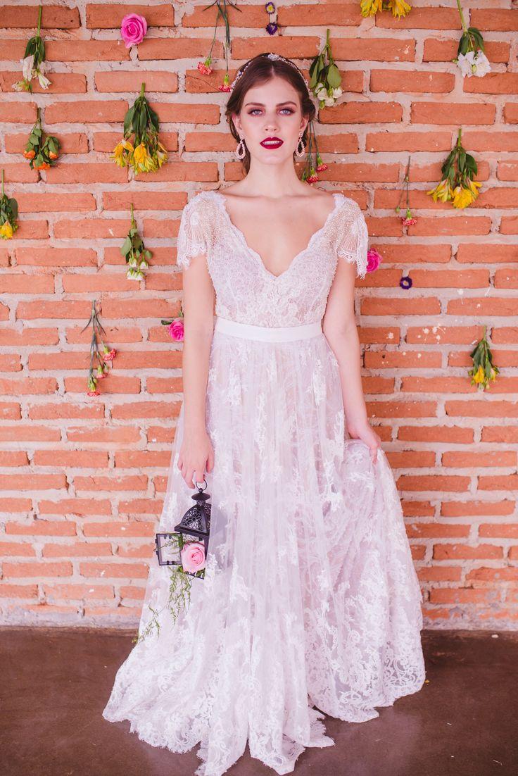 Fantástico Vestido De Novia De Mariah Carey Galería - Colección de ...