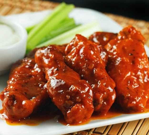 Alitas de pollo super picantes