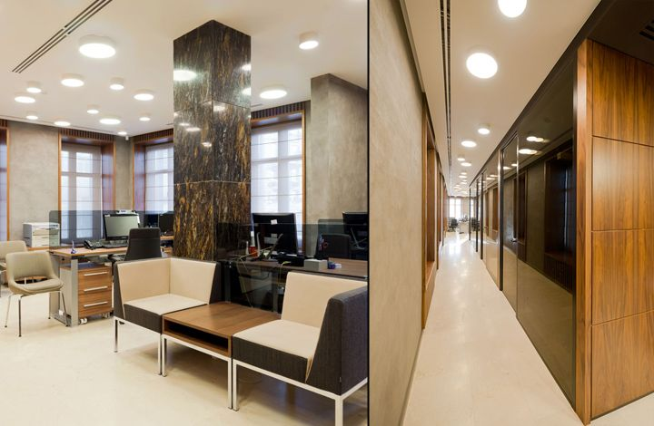 Russian Mortgage Bank Office by PANACOM, Moscow   Russia office bank