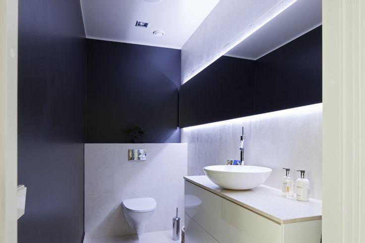 Tunnelmallinen wc-tila, lisää ideoita www.lammi-kivitalot.fi