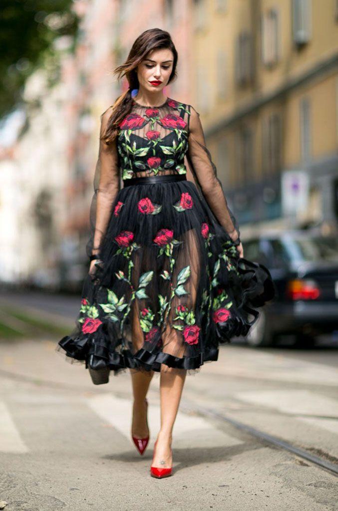 Испанский стиль в одежде – жгучий танец страсти!