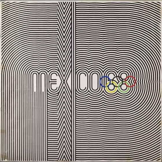 Mexico City Olympic Games, 1968 :: Lance Wyman, Eduardo Terrazas and Pedro Ramirez Vázquez ::