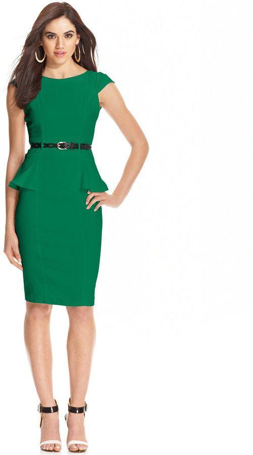 Emerald Green Dress Macy's