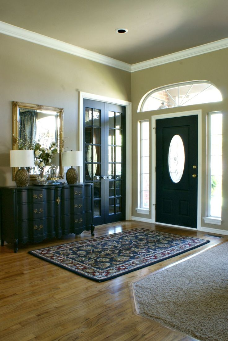Our Fifth House: Thinking Of Painting Your Interior Doors Black? Yes. Yes I