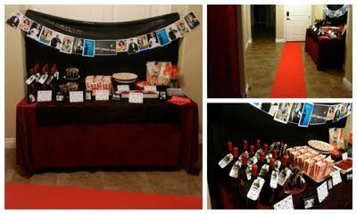 A Couple of Craft Addicts: Vintage Hollywood theme party