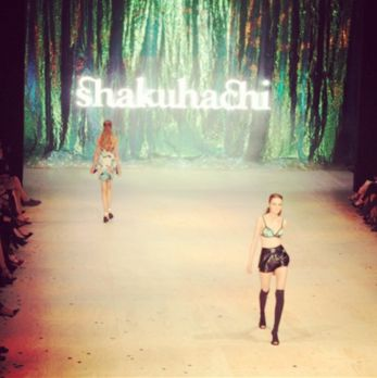 Shakuhachi rocking MBFF Trends Show last week xx
