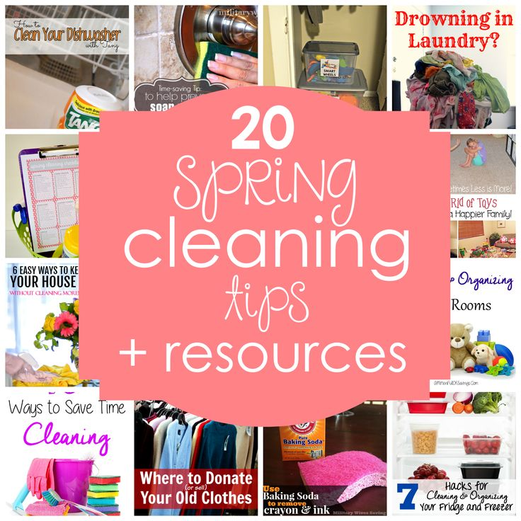 20 awesome spring cleaning tips and resources for a clean organized home. 155 best I ve been Featured  images on Pinterest   Cleaning hacks