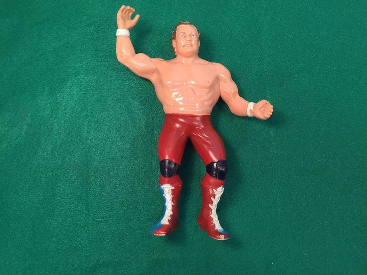 "Vintage Wrestling Doll 1986 LJN Titan WWF WWE Wrestling Superstars Davey Boy Smith,Dynamite Kid-Tom Billington Large 8"" Rubber Action Figure by ABarnFullofToys on Etsy"