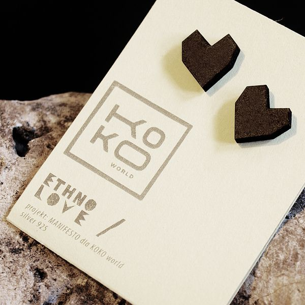 Ethno LOVE earrings from KOKOworld by DaWanda.com