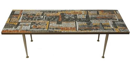 love tile top coffee tables: Coastal Dreams, Coffee Tables, Dreams Houses, Abstract Design, Italian Mosaics, Mosaic Tile Table, Mid Century Furniture, Mosaics Tile Tables, 1950S Italian