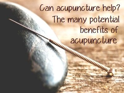 10 Unexpected Health Benefits of Acupuncture - including fertility treatment and PCOS.