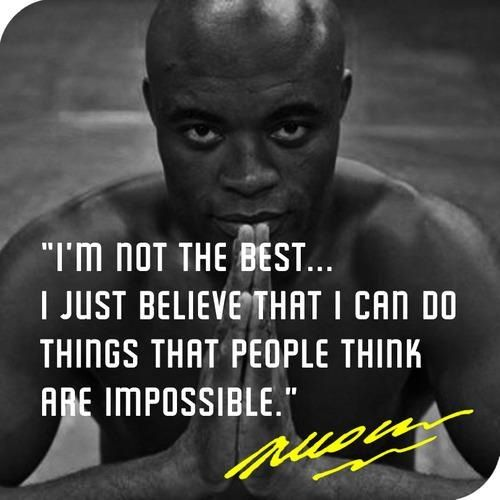 "Meet the extraordinary Anderson Silva (or more popularly known for his nickname ""The Spider""). For six straight years he held the Ultimate Fighting Championship Middleweight division title, the longest winning streak for any MMA fighter who participated in the world-famous event. I am ready to fight the best. Anderson Silva www.thextraordina..."