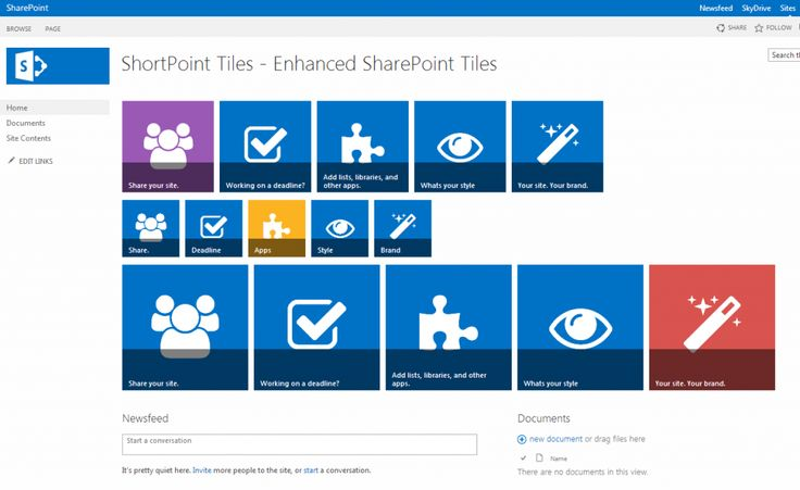 The most complete Tiles for SharePoint and Office 365