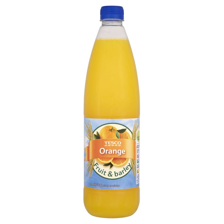 #Tesco! Orange fruit & barley.