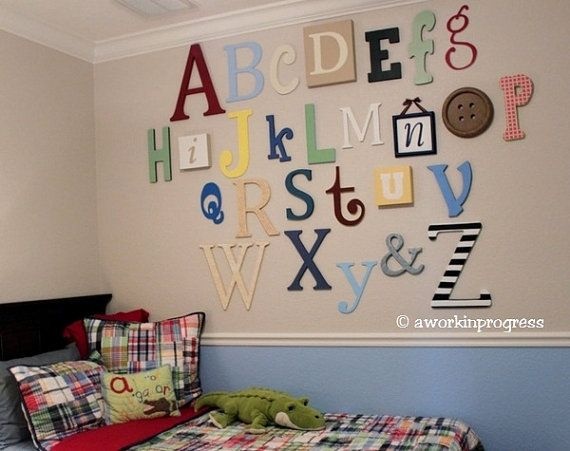 I would love to do this in the playroom!