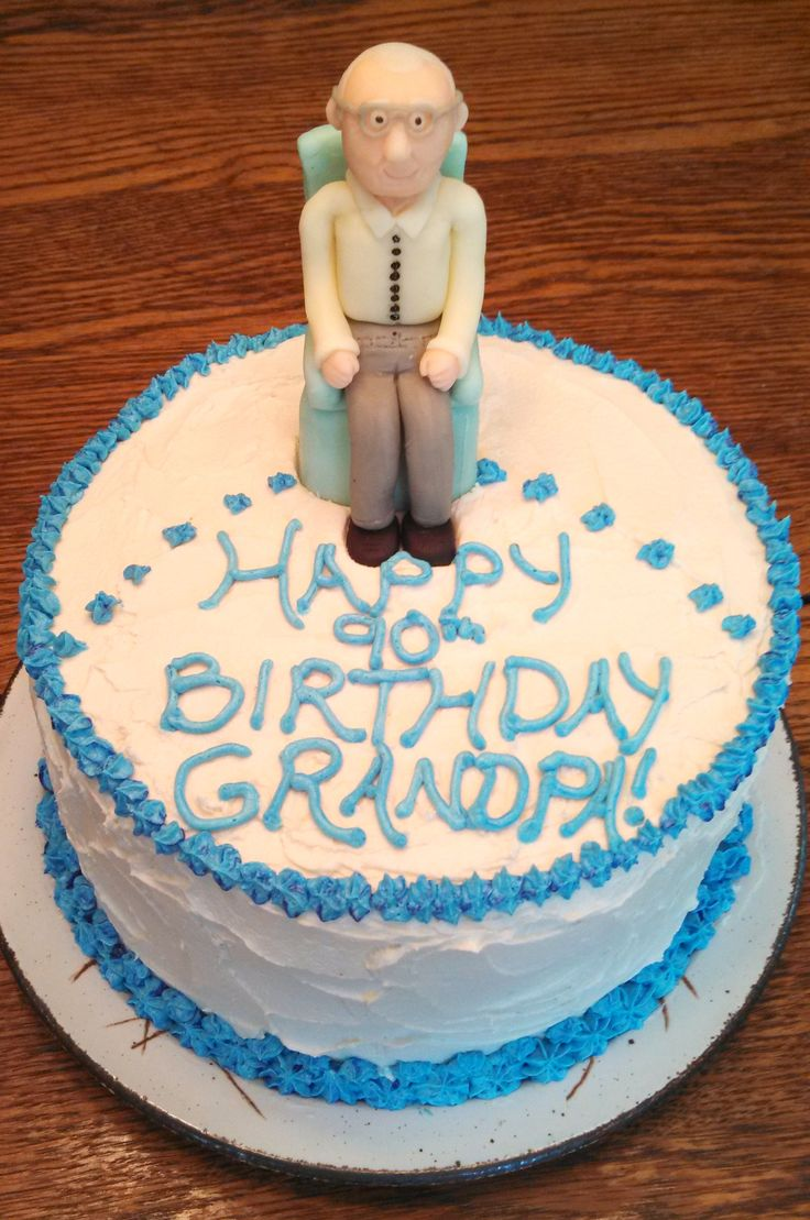 Birthday Cake Ideas Grandpa : 1000+ images about 90th Birthday Cake And Extras on ...