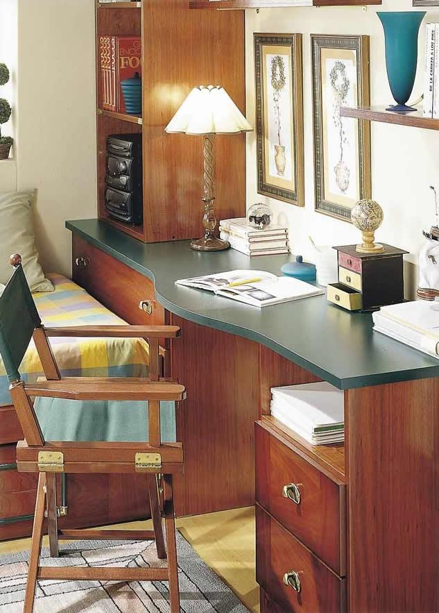 Mesa estudio Dormitorio Juvenil Barco Java