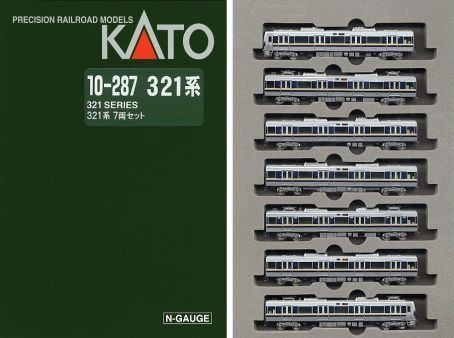 Kato 10287 Electric Train Series 321 7Car Set Powered -- See this great product.