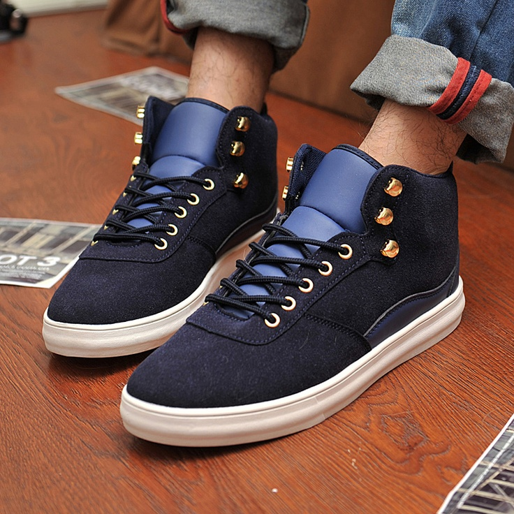 Winter fashion shoes low-top skateboarding shoes Men casual male shoes  fashion trend of the