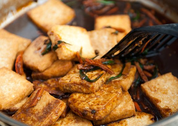 chinese hunan tofu recipe | use real butter