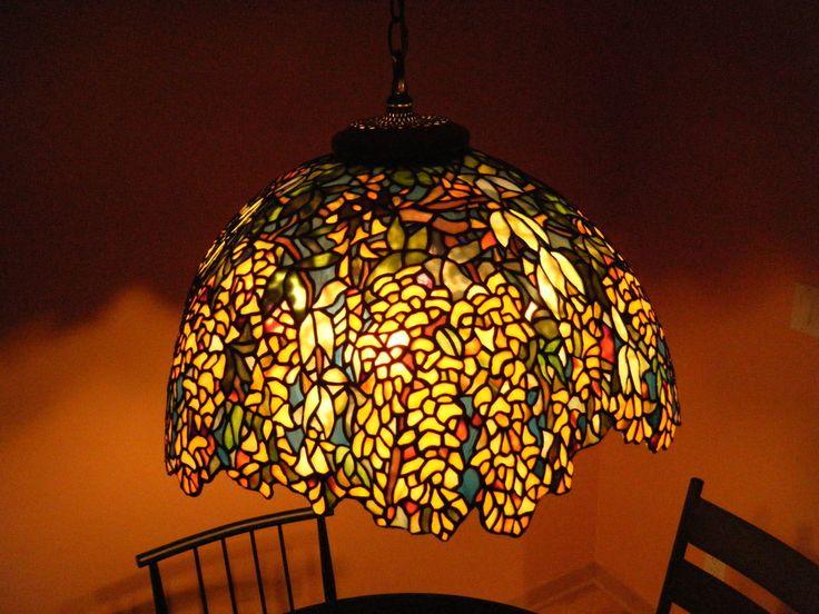 150 best Art Glass Lamps images on Pinterest