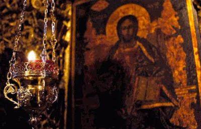Ο λεγων αυτην την ευχην καθε εσπερας, μετα κατανυξεως, εαν επελθη επ' αυτον η φοβερα ωρα του θανατου εν τη νυκτι ταυτη, λυτρουται της κολασεως, ελεει Θεου.