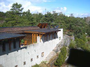 Villa Busk, Bamble, Norway, Sverre Fehn, 1990