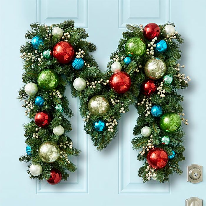 Best 25+ Monogram wreath ideas on Pinterest | Letter door ...