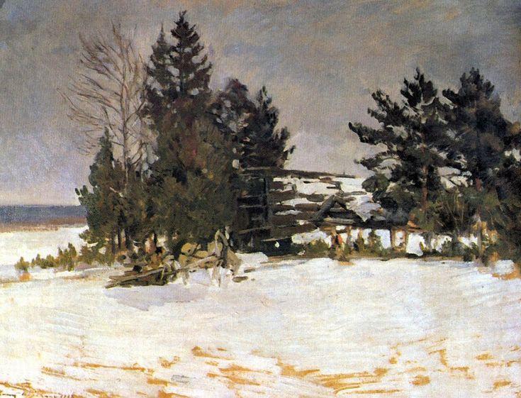 "Константин Коровин ""зима""/Konstantin Korovin @winter wishes@"