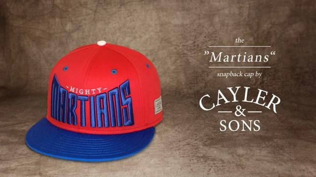 """The """"MARTIANS"""" Snapback Cap by Cayler & Sons"""