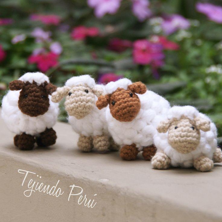 Tutorial Oveja Amigurumi Paso A Paso En Espanol : 17 mejores imagenes sobre Tejido, crochet, amigurumi en ...