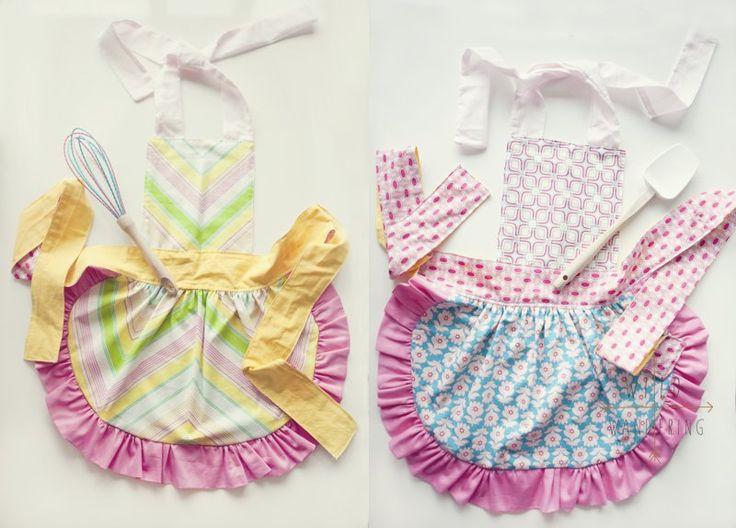 child's apron pattern
