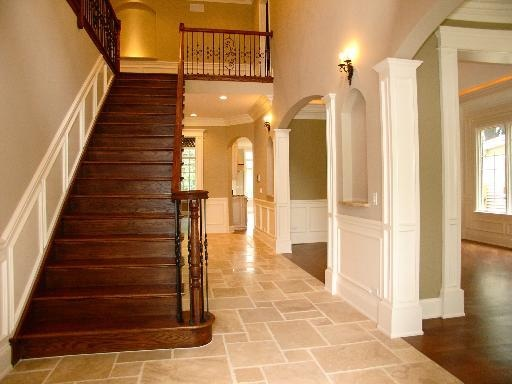 Foyer Tile Or Wood : Best foyer ideas images on pinterest mud