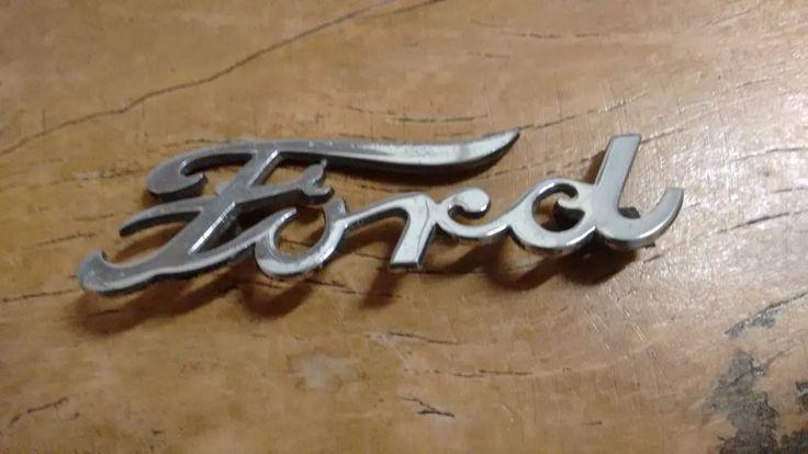 emblema ford antigo
