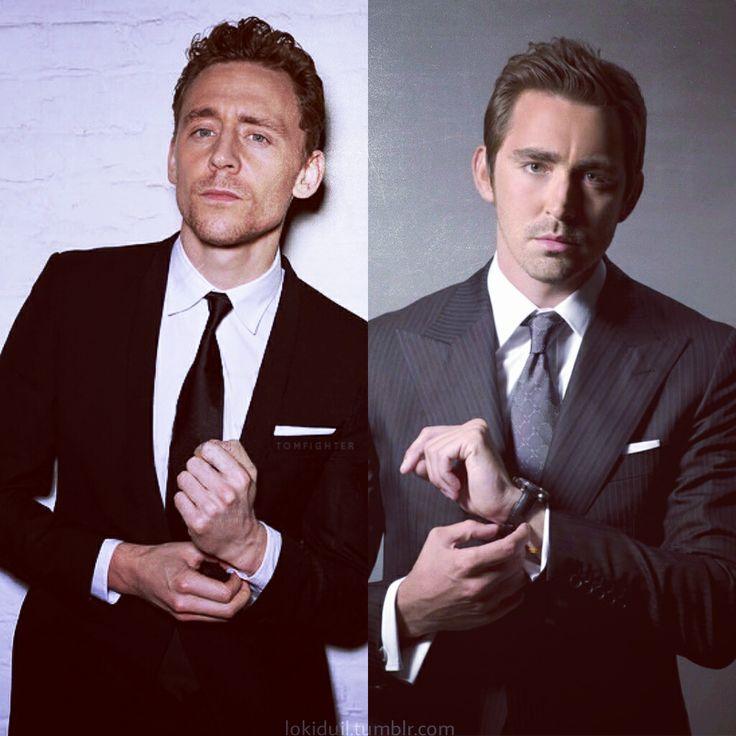 Tom Hiddleston & Lee Pace | Tom Hiddleston | Pinterest
