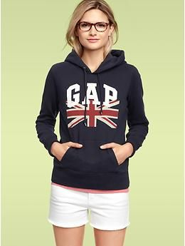My inner GAP nerd wants this hoodie. Especially because of the olympics this summer.
