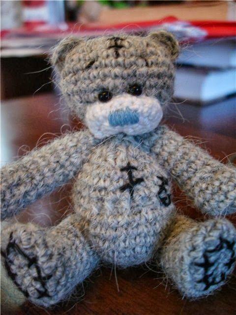 Мишка Тедди - игрушка амигуруми для начинающих